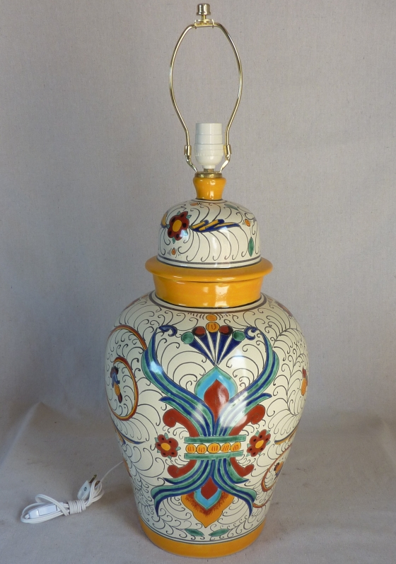 Charmant Talavera Lamp 1